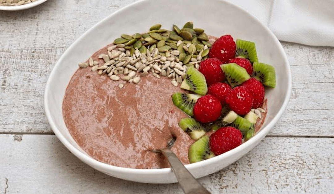 Raspberry & Chocolate Chia Bowl Recipe