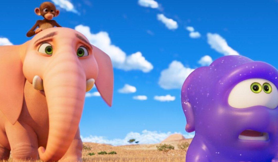 A Little Blue Alien Proves Friendship Can Melt the Hardest Heart, in 'Jungle Beat'