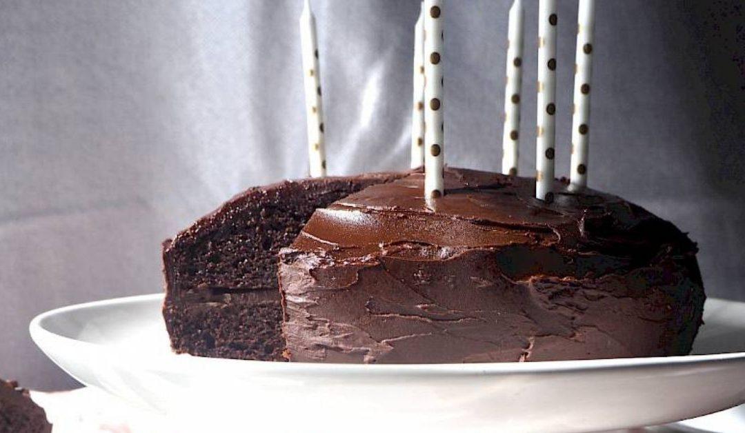 Nut-free Chocolate Birthday Cake
