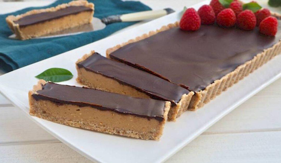 Caramel & Chocolate Tart Recipe