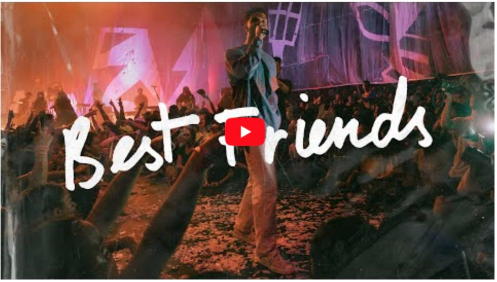 hillsong young and free best friends live video
